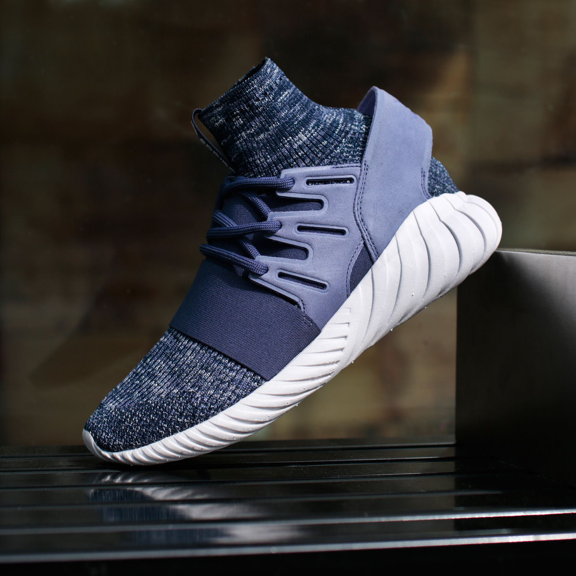 adidas Originals TUBULAR DOOM PK Sneakers alte solid grey