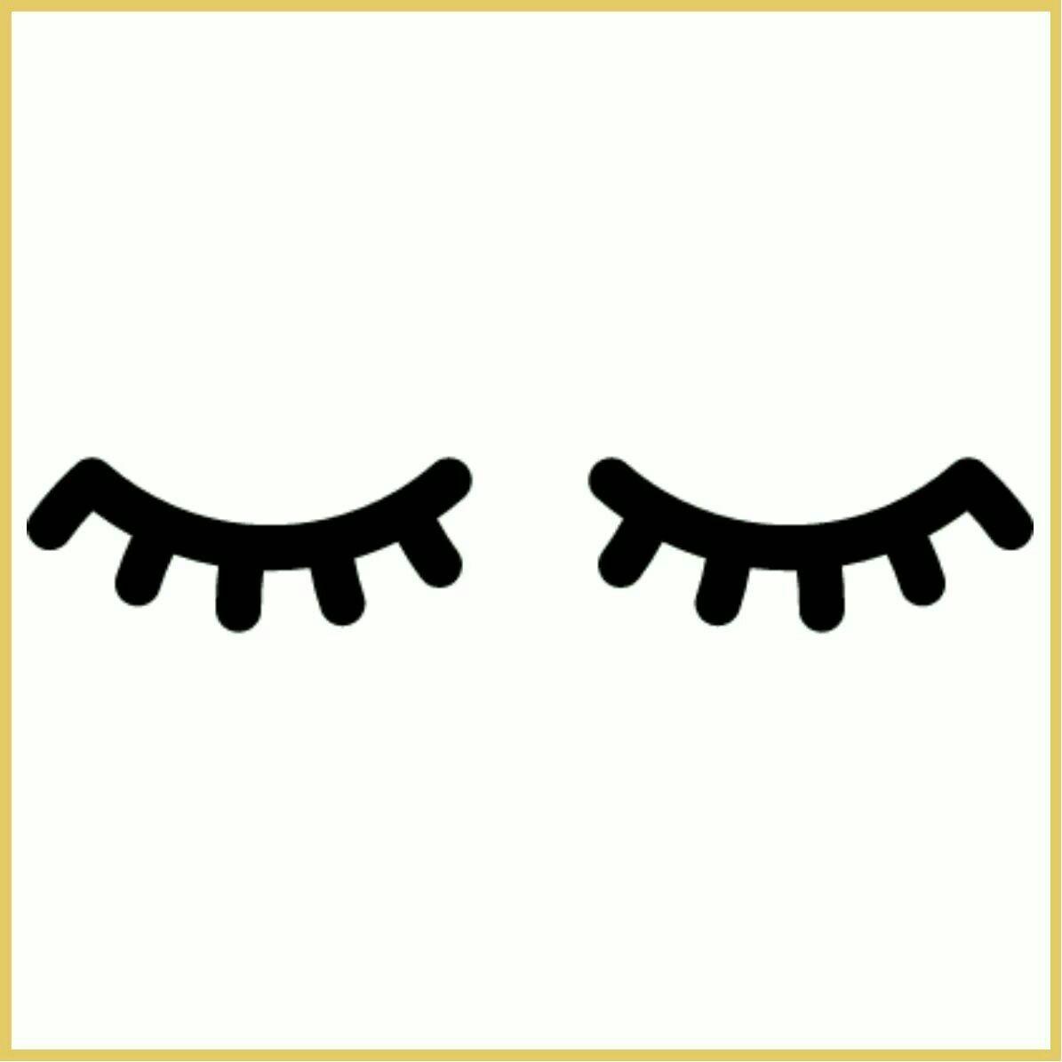 Nusery Wall Stickers Ojos De Unicornio Moldes Pinterest Unicornio Ojos Y