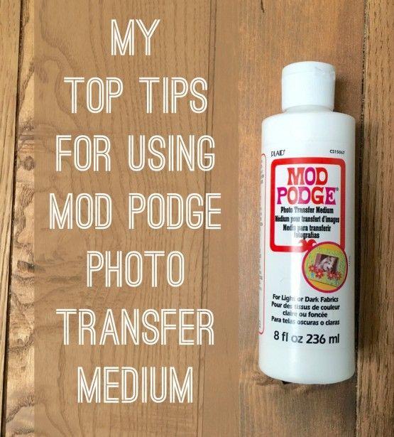 Vintage Mod Podge Photo Transfer To Glass Vases Mod Podge Photo