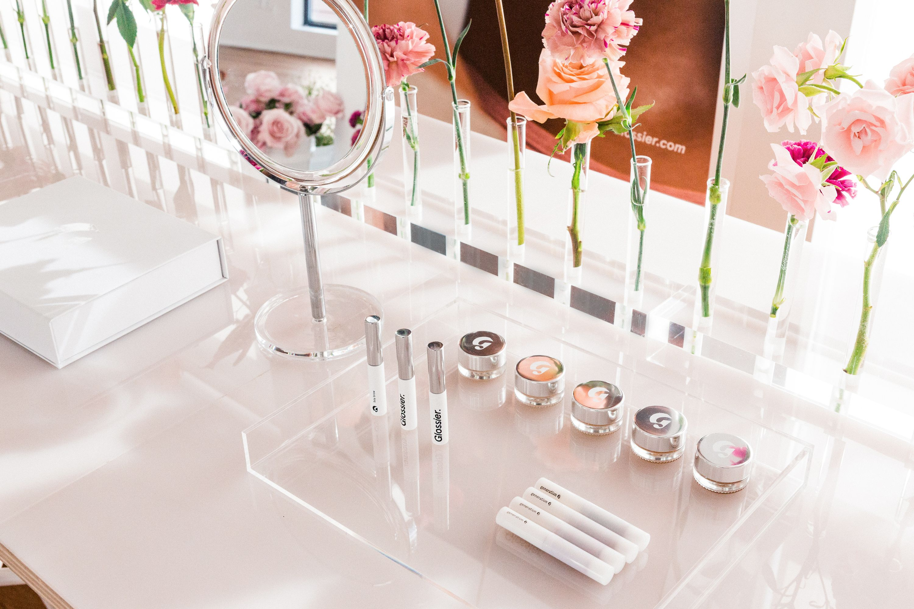 b5022f09236 Glossier s Instagrammable Showroom Is Open to the Public for Phase 2 ...
