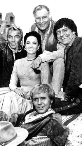 "Blast from the past...cast from ""The High Chaparral,"" which was a 1960s TV show that almost no one remembers today"