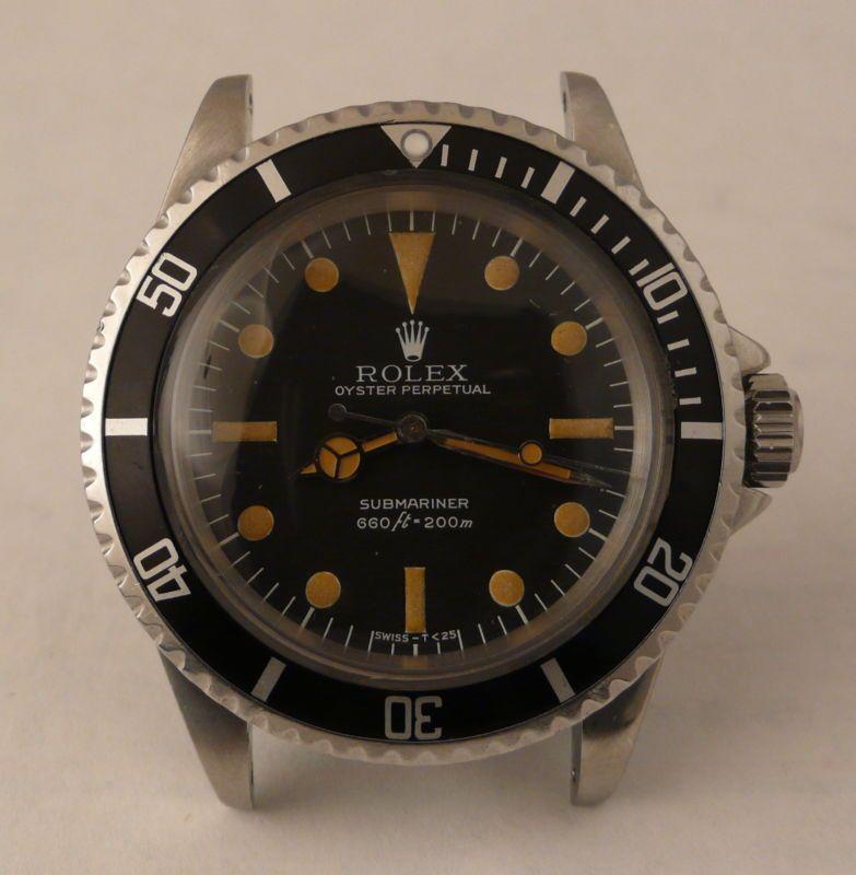 Vintage Rolex Submariner No Date ref. 5513 w/ STUNNING MK3
