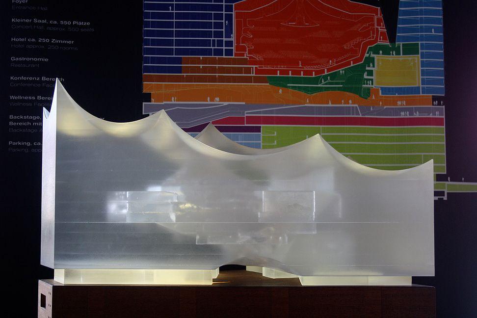 Elbphilharmonie Hamburg Architecture Model Architecture Photography Visual Communication