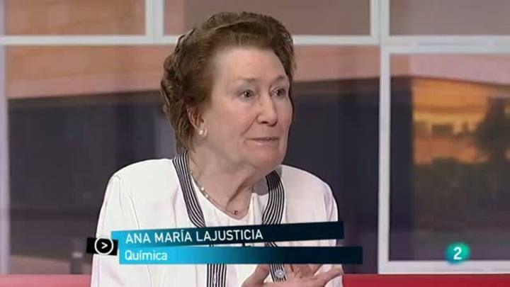 Ana Maria Lajusticia Ana Maria Is 91 Yrs Of Age A Chemist And