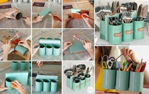 Organize e recicle