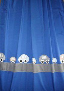 Hippe handgemaakte gordijnen Auto BRROEM blauw | Gordijn | Pinterest ...