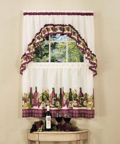 Cortina con botellas de vino | Diseño de vino, Cortinas para la ...