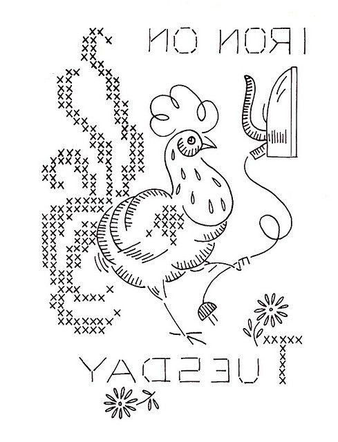 Vogart 699-8 | Gallos, Gallinas y Apliques