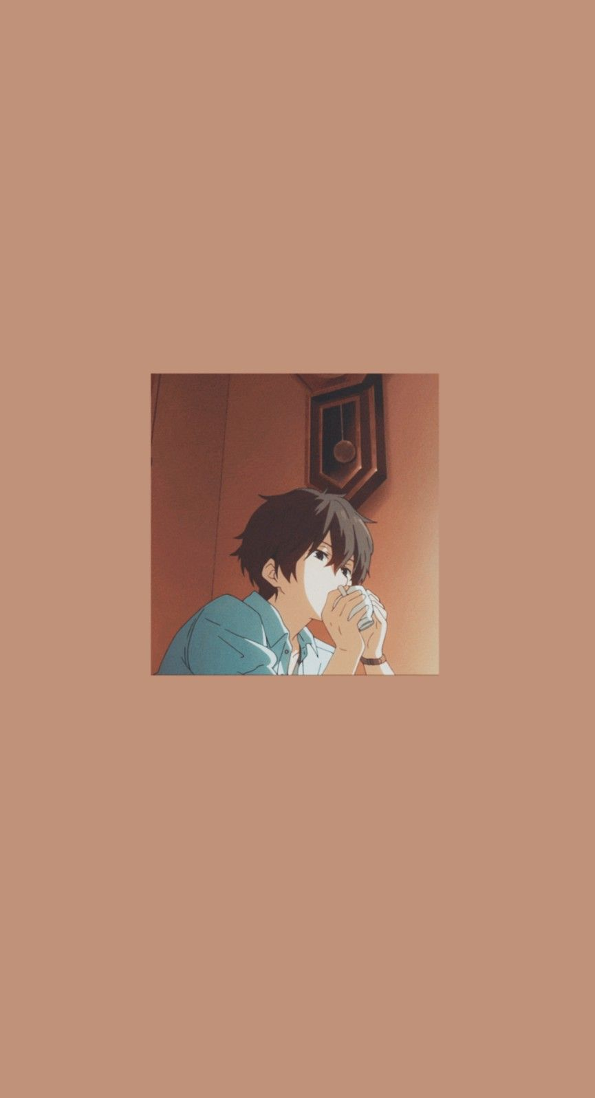 Anime Hyouka Wallpaper Seni Anime Gambar Karakter Seni Animasi Anime simple boy wallpaper