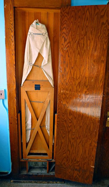 Vintage Built In Ironing Board, Vintage Ironing Board Cabinet