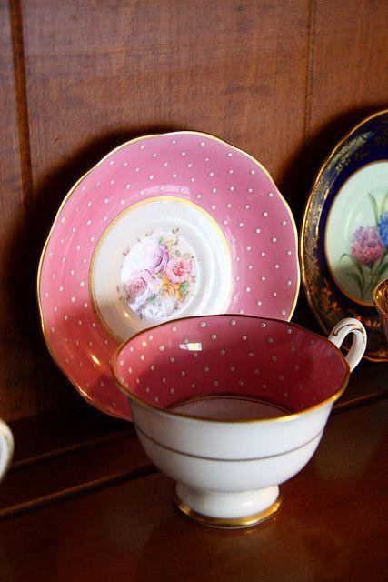 Pink Tea Cup by A Gude, via Flickr