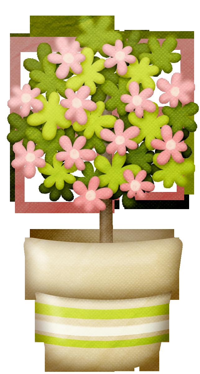 Цветок в горшке картинки для детей