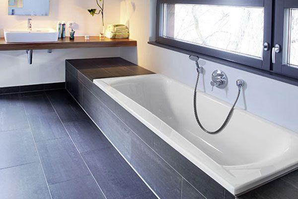 repaBADBadewannearosa  Projekte  eingebaute Badewanne Badewanne Ideen und Badezimmer