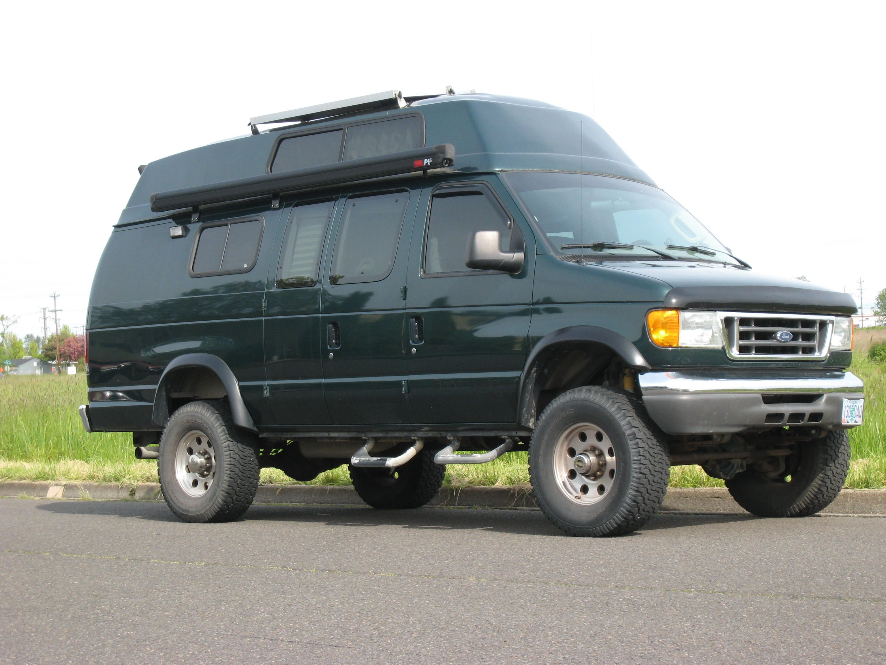 sportsmobile offers 50 camper van plans or will customize to meet your camping travel needs since two and four wheel drives gas and diesel vans