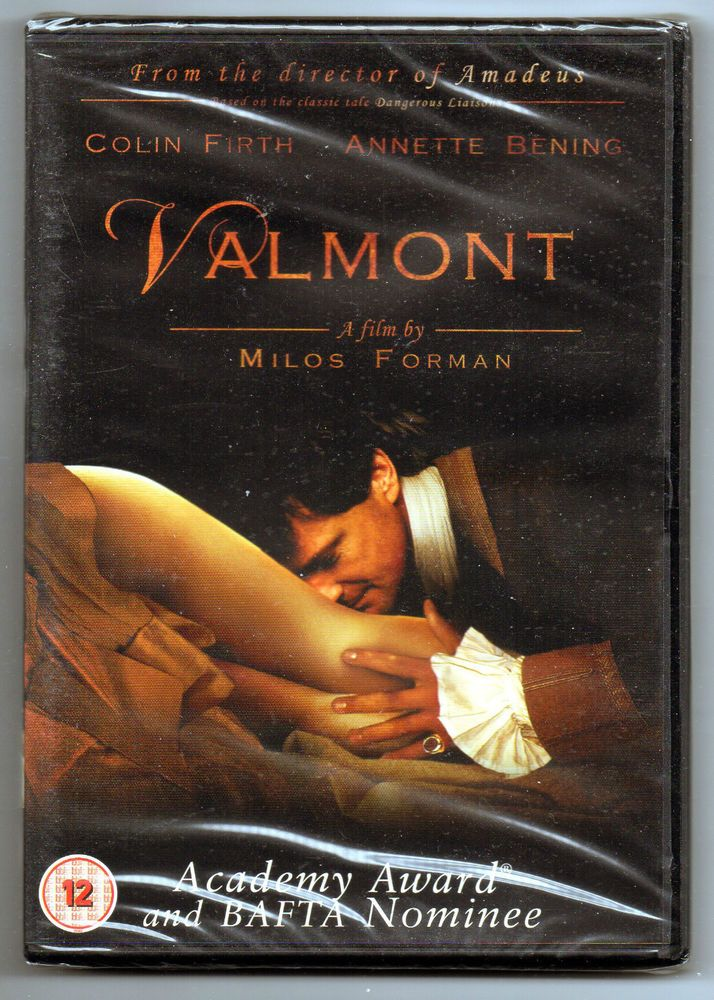 Valmont, Milos Forman, Annette Bening, Colin Firth, NEW sealed