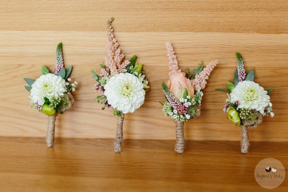 Inna Studio Buttonhole Butonierki Rustykalne Fot Bajkowe Sluby Diy Wedding Table Decorations Wedding