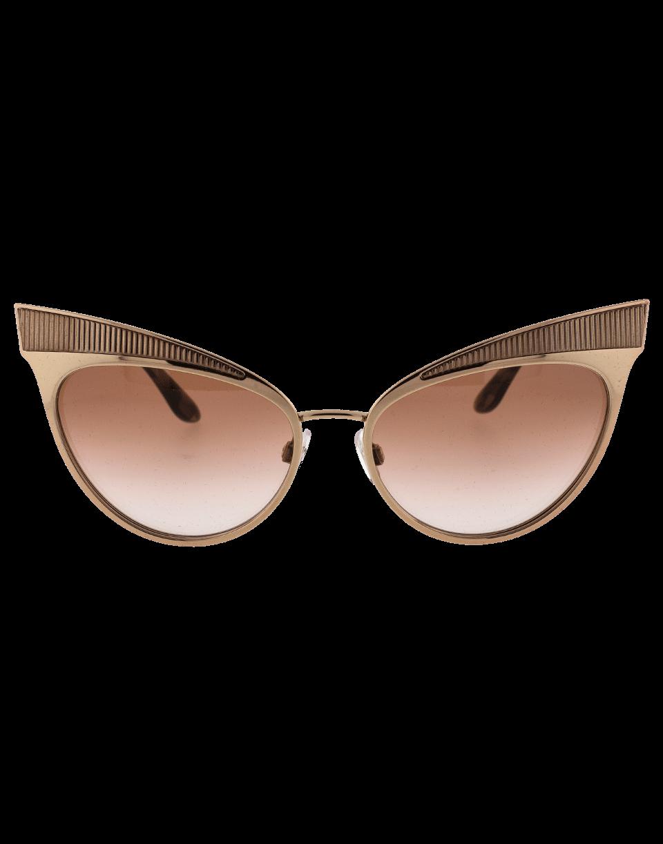 DOLCE & GABBANA Cat Eye Metal Frame Sunglasses. #dolcegabbana ...