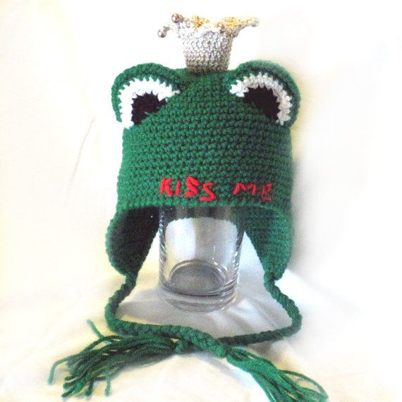 Crochet Frog Princess HatCrochet Frog by NPhandmadeCreations