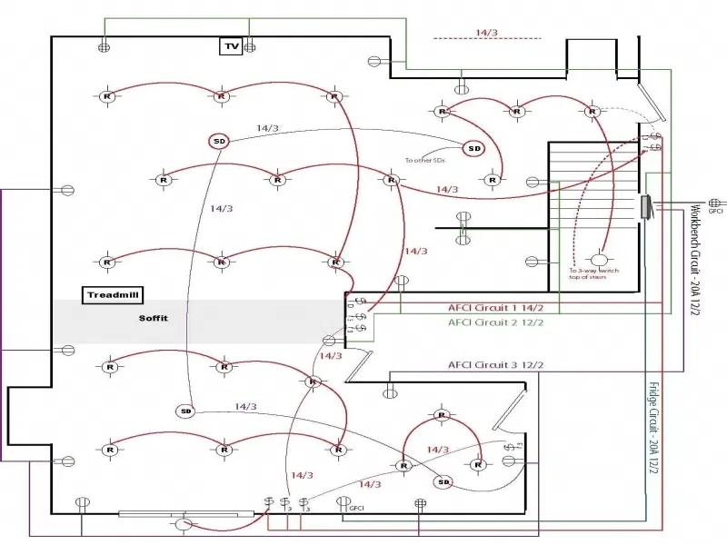 Pin On Electrica, Home Electrical Wiring Diagrams Pdf
