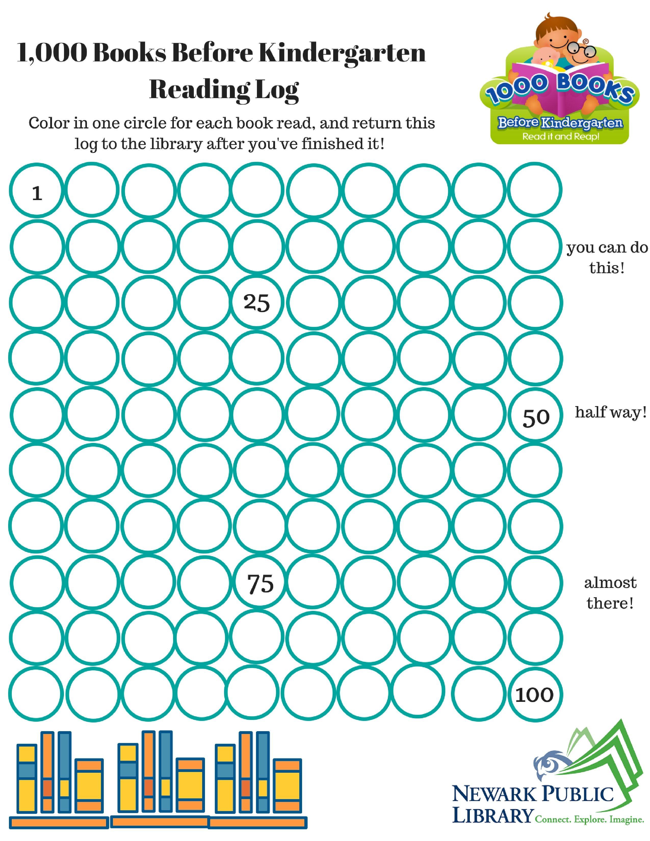 1,000 Books Before Kindergarten @ NPL | education | Pinterest ...
