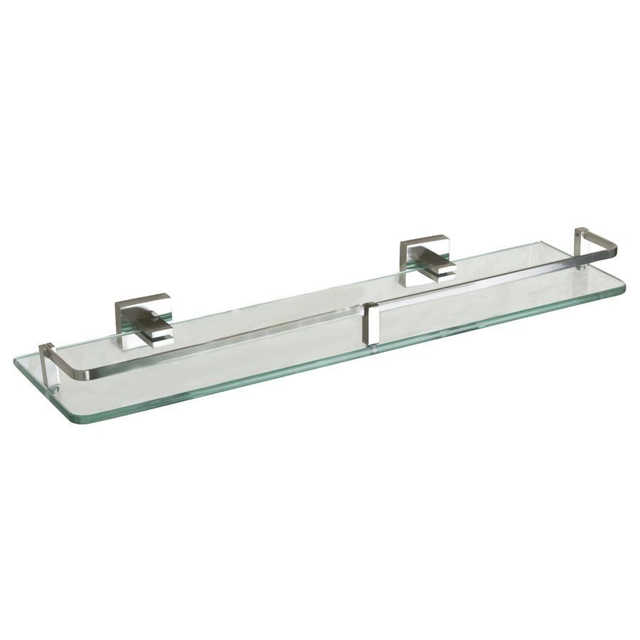 Shop Barclay Jordyn Glass Bathroom Shelf At Lowes Com Glass
