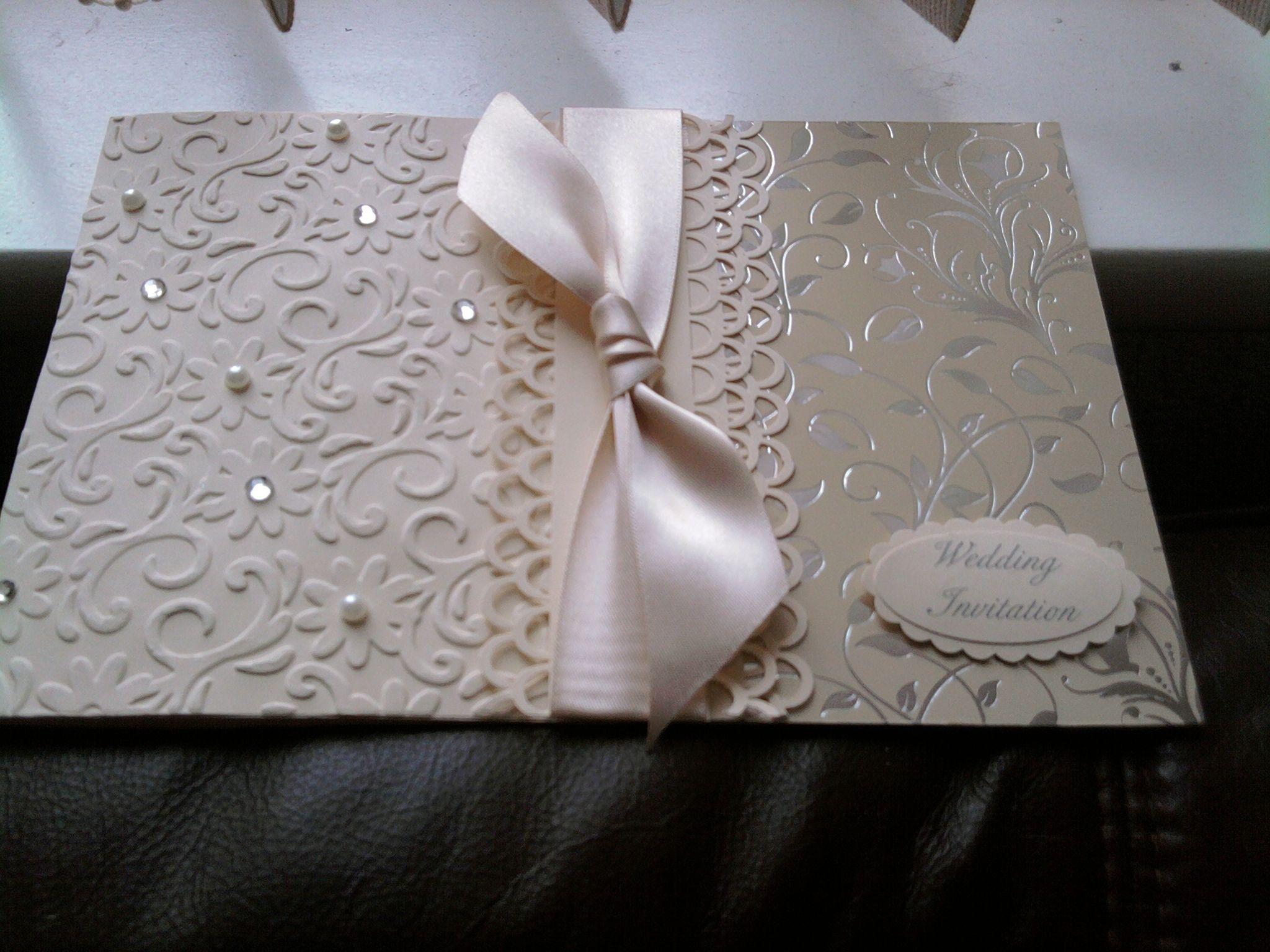 wedding invitations 1of 150 - Scrapbook.com | Invitaciones Todas ...