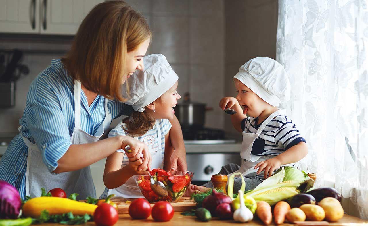 rezepte für kinder so schmecken obst und gemüse