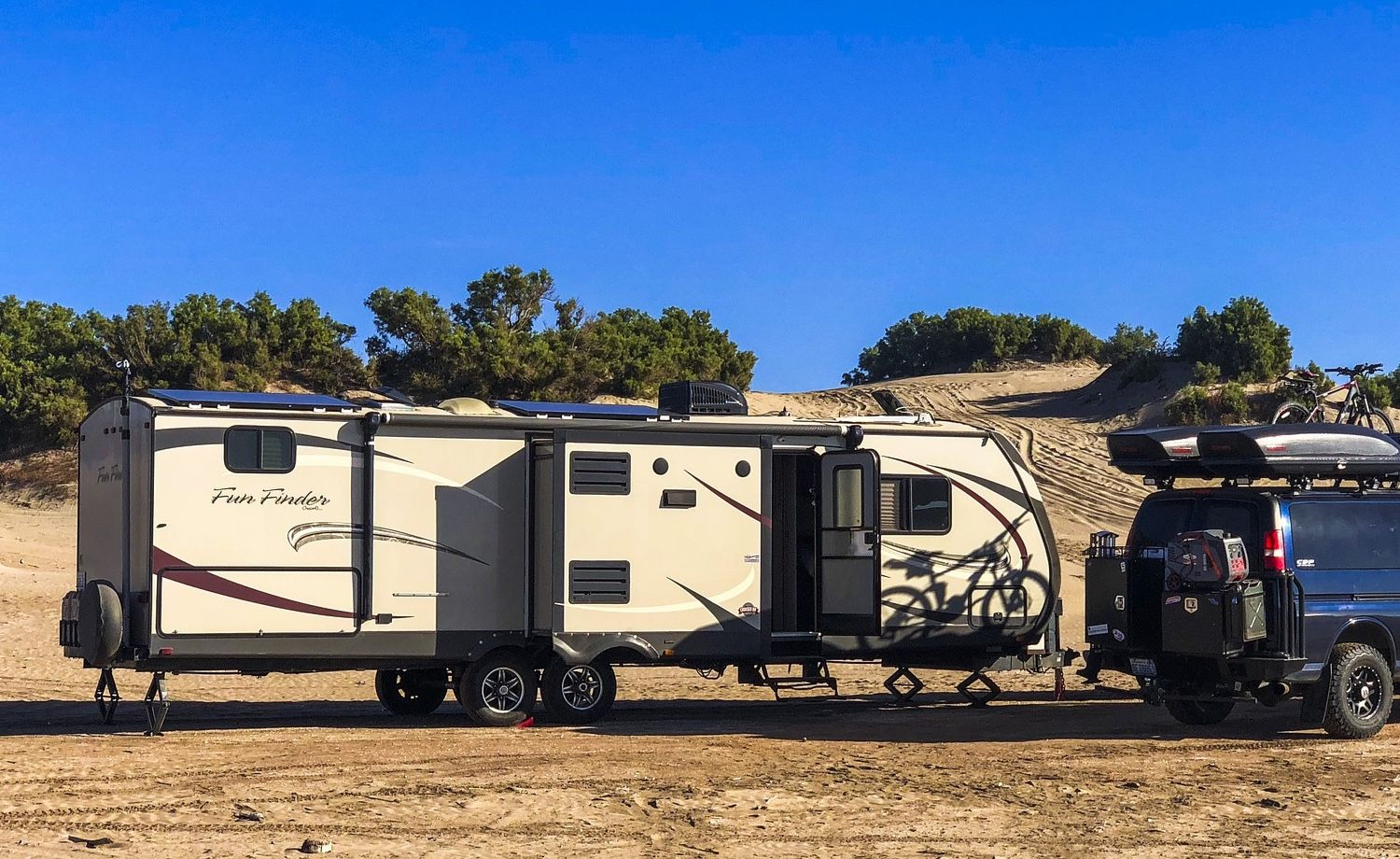 7 Must Haves For Boondocking In The Summer Recreational Vehicles Camping Supplies Camping