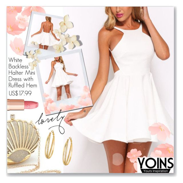 """""""Yoins.com"""" by dressedbyrose ❤ liked on Polyvore featuring Charlotte Tilbury, yoins, yoinscollection and loveyoins"""