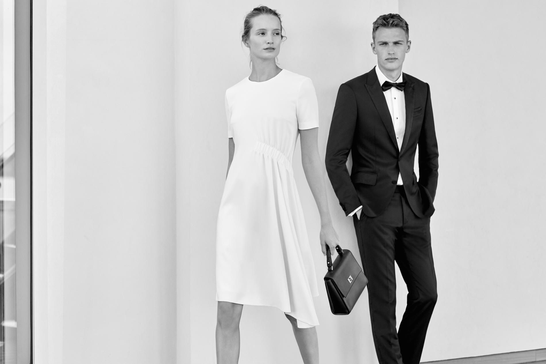 Hugo Boss dévoile une collection mariage   Hugo boss, Mariage and ... 36353bf7b429