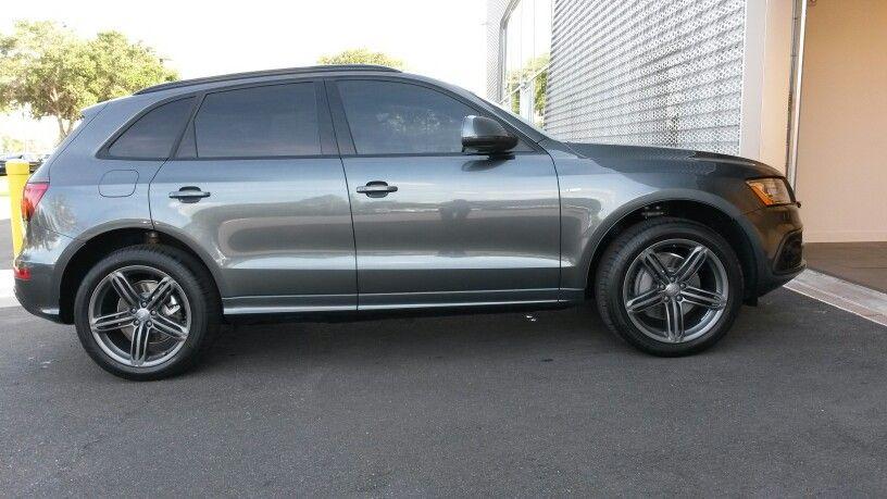 2014 Audi Q5 With Ceramic Window Tinting In Orlando