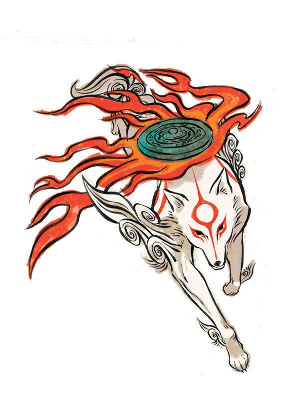 Pin By M K On Okami Okami Amaterasu Art
