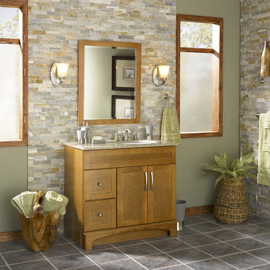 Shop Desert Quartz Ledgestone Natural Stone Indoor/Outdoor Wall Tile (Common: 6-in X 12-in