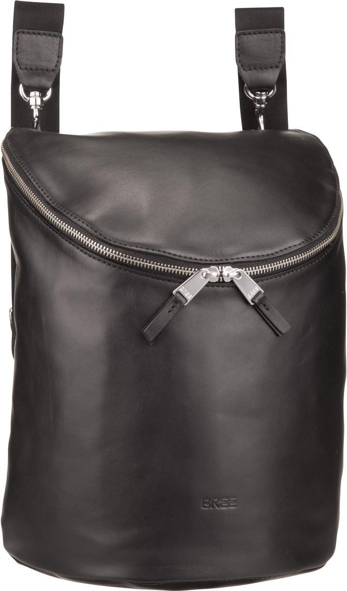 Bree Rucksack Daypack Stockholm 40 Black Taschen Bags Backpack Rucksacke Style Fashion Mode Rucksack Frauen Rucksack Taschen