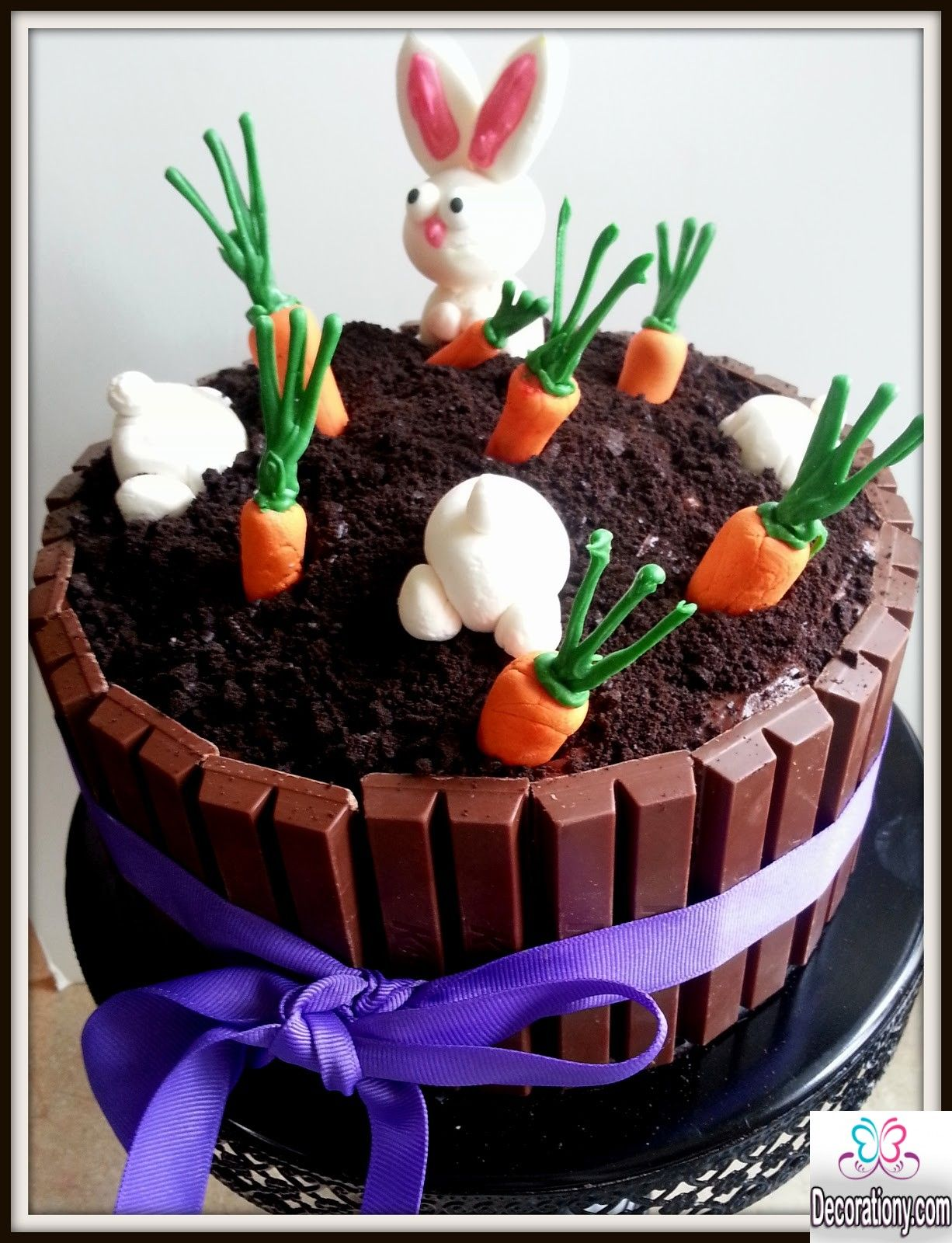 Cute Easter Bunny Cake Decorating Ideas Easter Bunny Cake