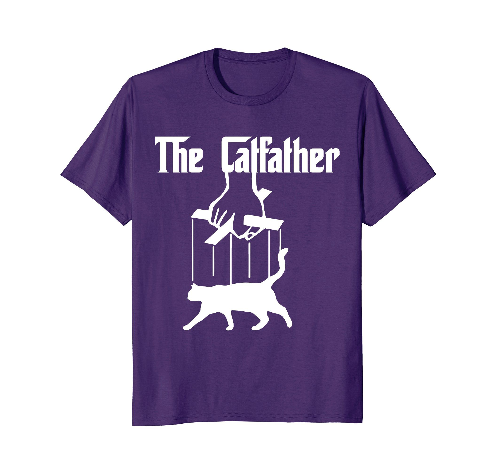 6e95ceae79f7f The Catfather Cool Funny Cat Novelty Shirt by Scar Design. SOLD ...