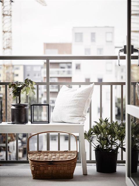 10 tipos de terrazas de estilo escandinavo 阳台 Pinterest