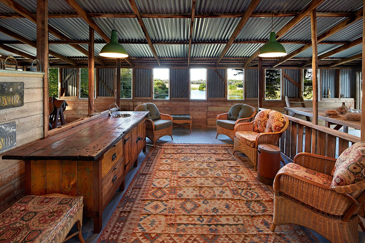 House of the day green acres in australiaphotos shed
