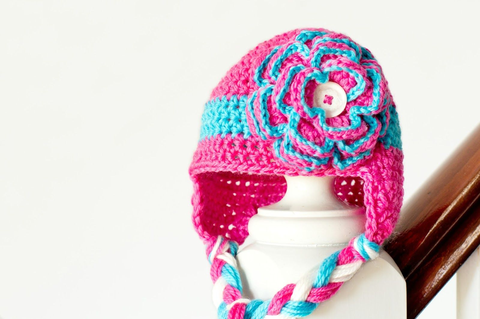 Alli crafts free pattern baby earflap hat 3 months with alli crafts free pattern baby earflap hat 3 months with links for sizes premie to toddler crochet for babies bankloansurffo Images