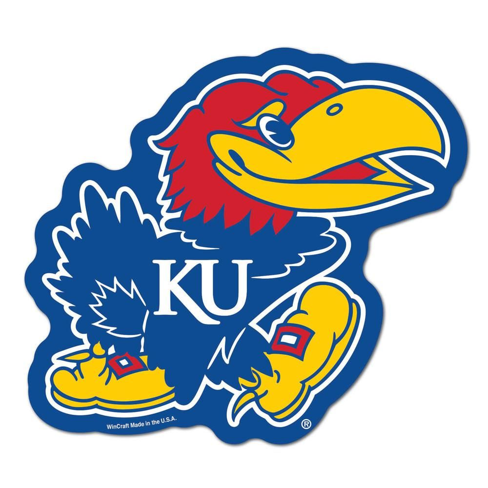 Kansas Jayhawks Logo on the GoGo Jayhawks, Kansas