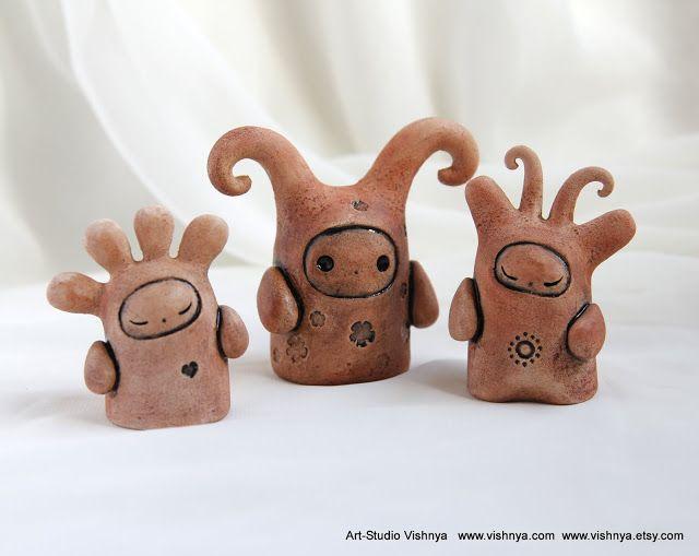 Добрые духи, зайчики, котики и прочая хрень | Керамика ...