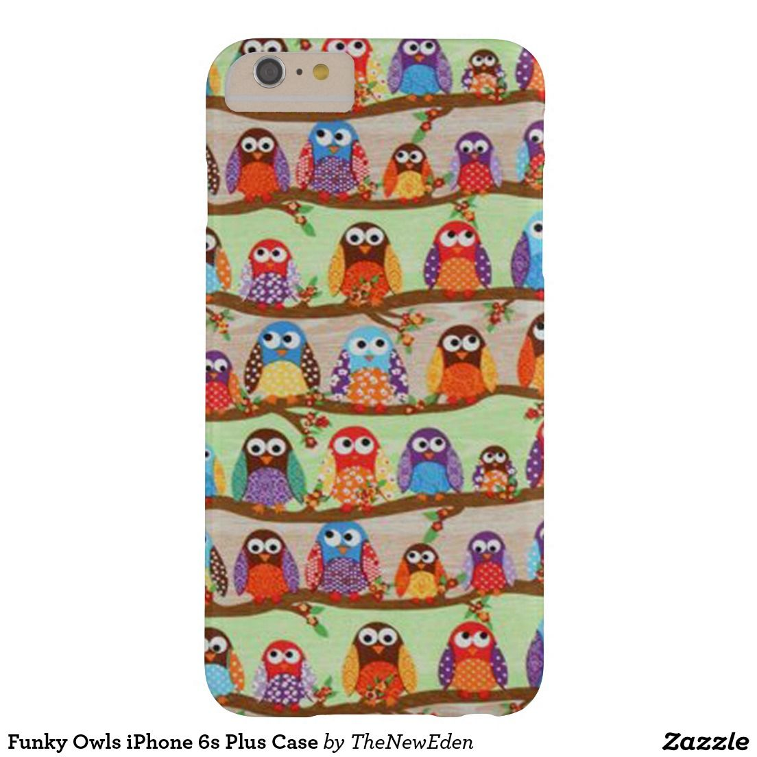 Funky Owls iPhone 6s Plus Case