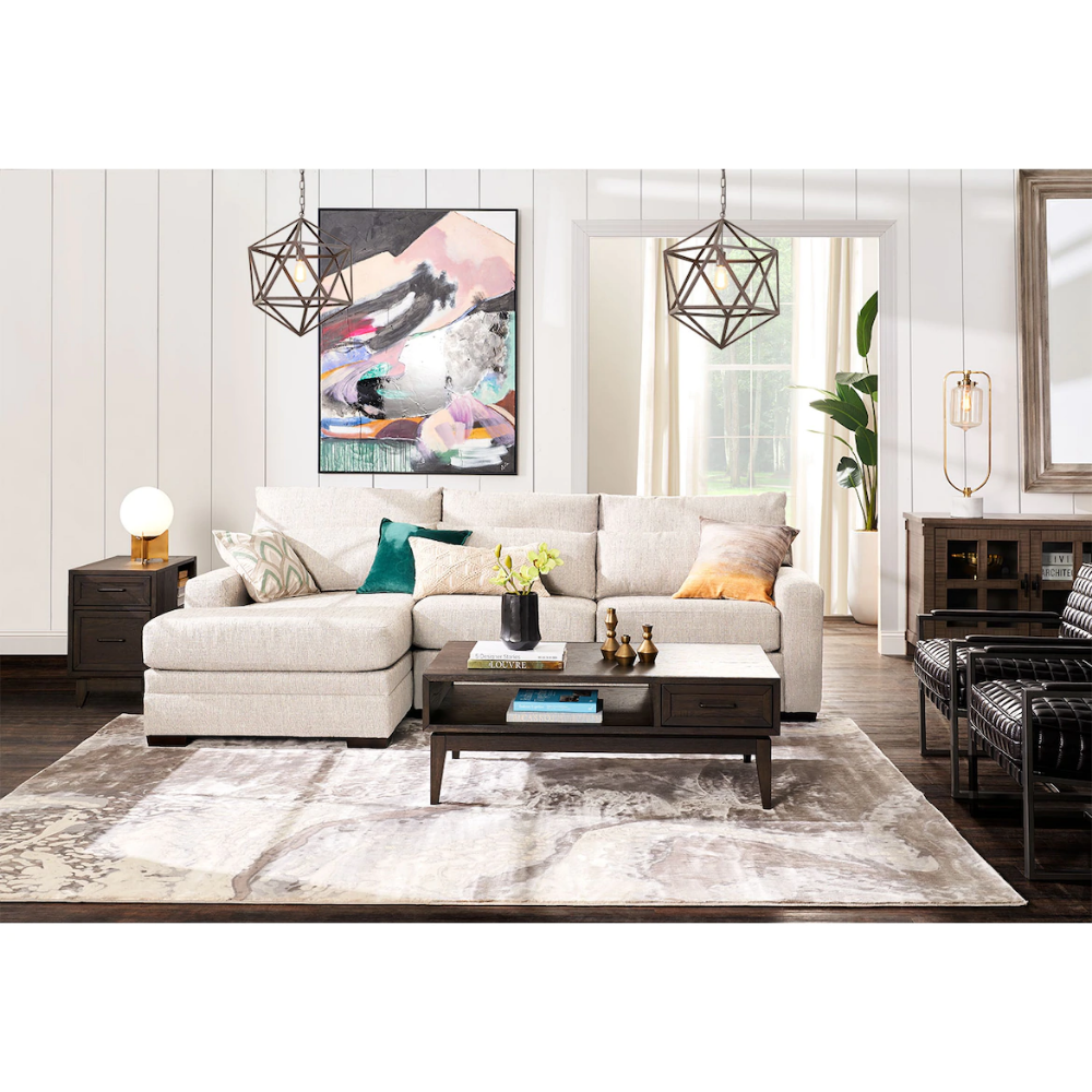 Winston 2 Piece Sectional With Chaise Furniture City Living