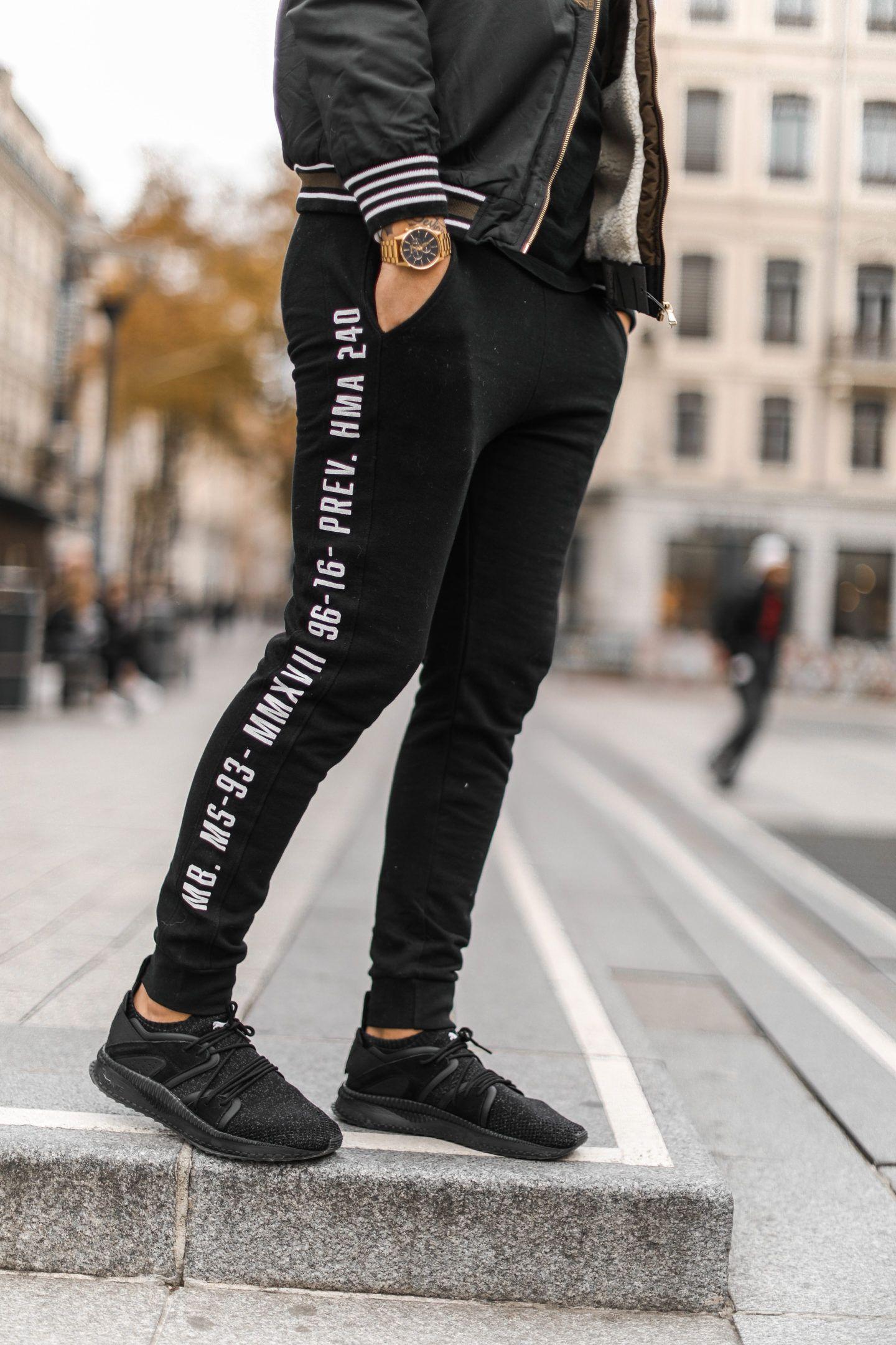 huge discount 0362a 3340b Puma homme all black Mens Jogger Pants, Sport Pants, Sporty Trends, Boys  Jeans