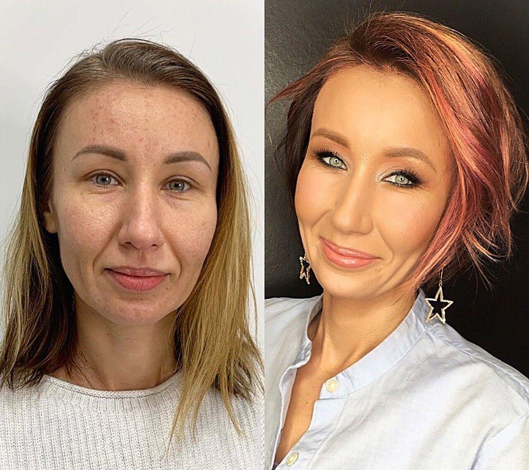 Фото до и после: как уставшие женщины превращаются в ...