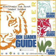 Cub Scout den leader guides are now available electronically.  Plan your den meetings on the go.