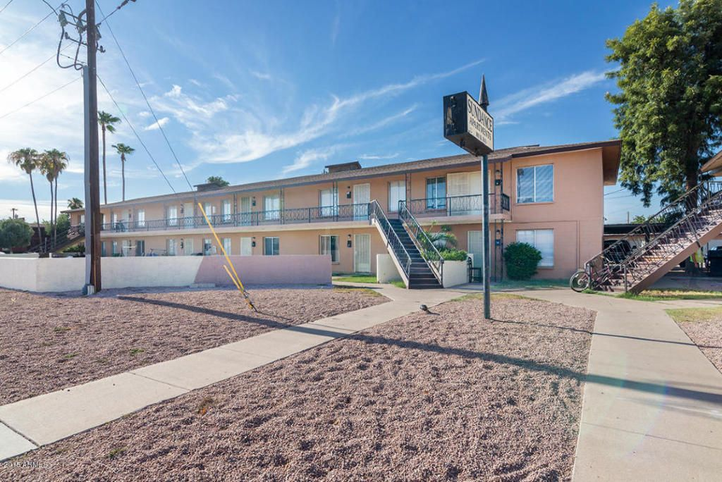 All two bedroom units in Chandler prime Location!!! 100% fully rented and all rents are getting increased rents at lease end to $700.00. Rents range for $625-$700. Laundry is leased and brings in about $150 a month net. Block construction and all have central a/c. Units all have tile this is a super low upkeep. Just had the roofs replaced. All facts and figures are approximate buyer verify MLS info.For more information about this property, visit me on www.akersaz.com or call me at 480 390…