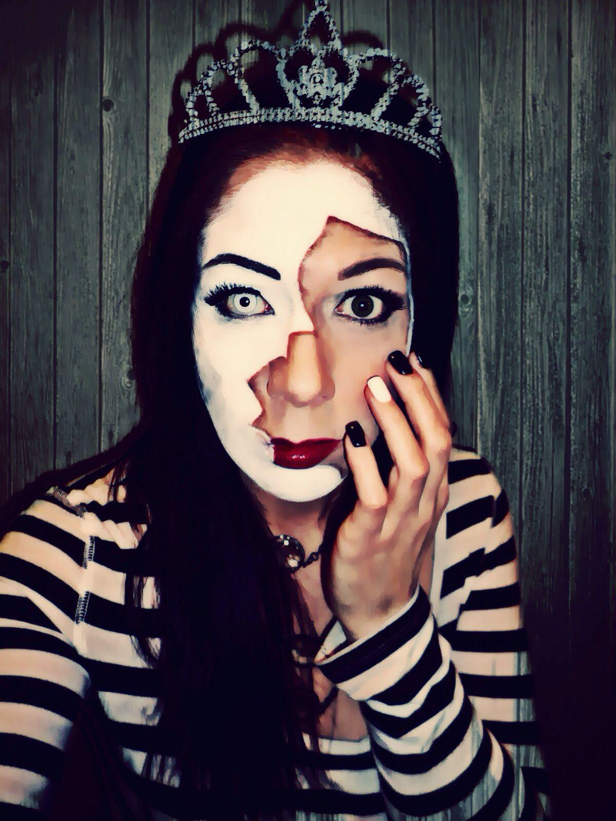 Broken Face Makeup, Halloween, Costume, Special Effects Makeup ...