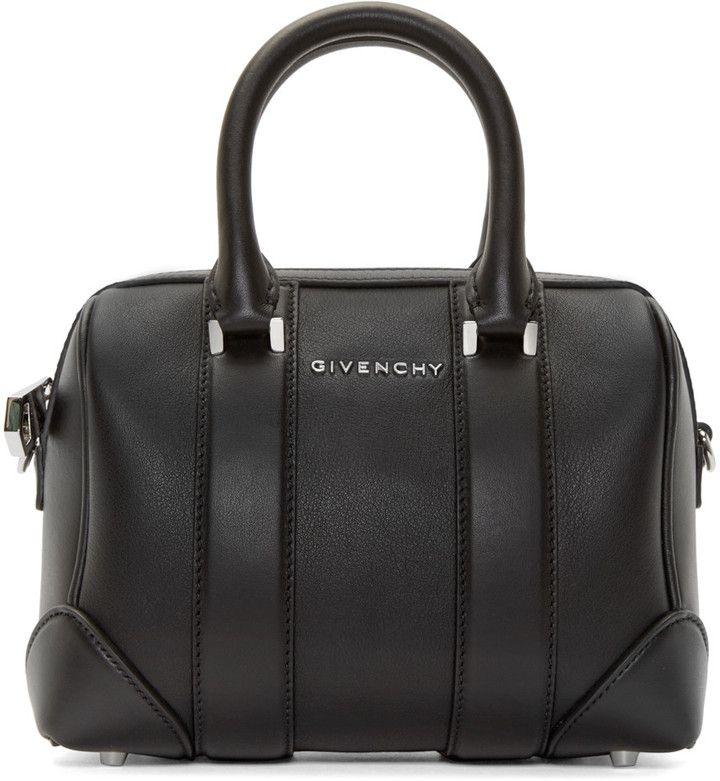 af0ab934f04 Givenchy Black Leather Micro Lucrezia Duffle Bag - ShopStyle Women Studded  Handbags, Black Leather Handbags