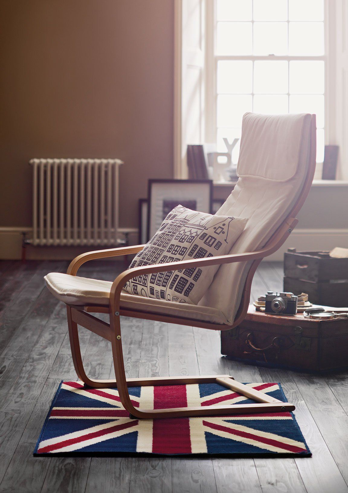 The Argos Union Jack Rug, the perfect compliment for the